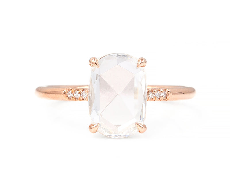 1.32-Carat Rose Cut Diamond Ring