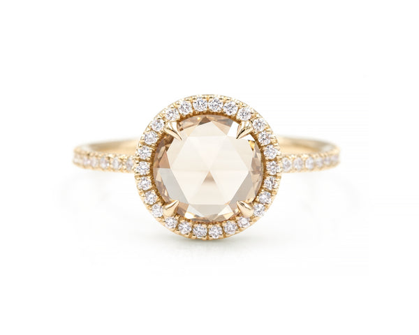1.33-Carat Round Blair Ring (size 6.5 in stock)