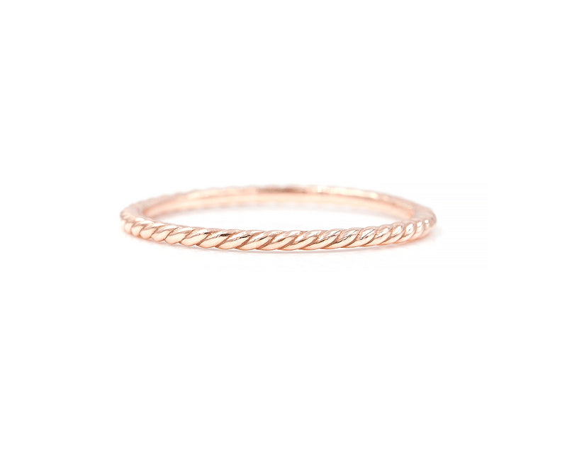 Twist Stacking Ring (size 6.5 and 7.5 in stock)
