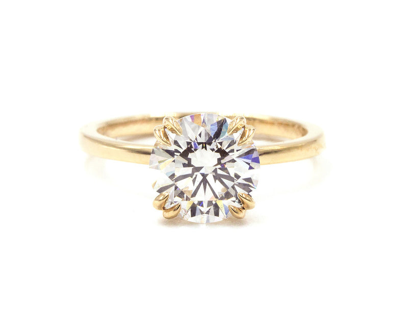 Everett Fine Jewelry 1.50-Carat White Diamond Solitaire Ring