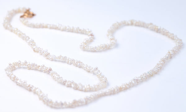 Akoya Seed Pearl Necklace (in stock)