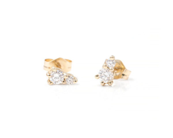 Brea Brilliant Cut Studs