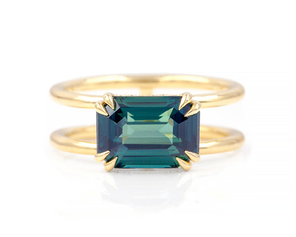 4.42-Carat Sapphire Clementine Ring