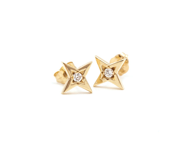 Everett Fine Jewelry Large Starlight Stud Earrings