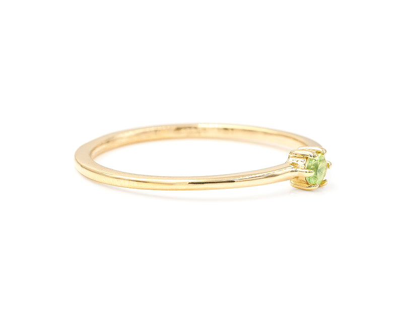 Peridot Stacker (size 6.5 in stock)