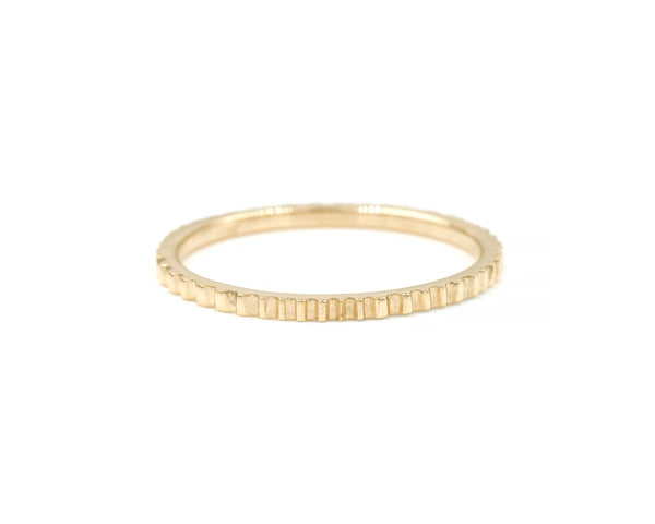 Radiant Band (14K Rose Size 6.75 in Stock)