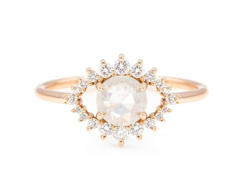 Everett Fine Jewelry Grey Diamond Sullivan Ring