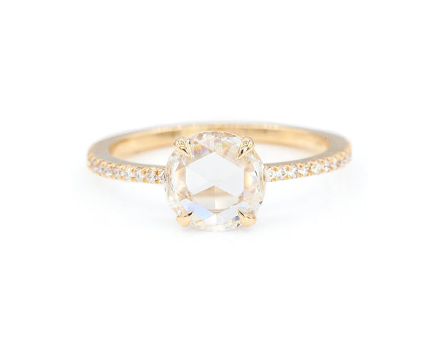Everett Fine Jewelry 1-Carat Round Rose Cut Taylor Ring