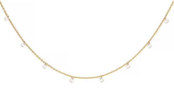 Yellow Gold Quinn Necklace (in stock)