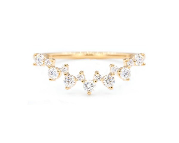 Everett Fine Jewelry Hudson Marquise Band