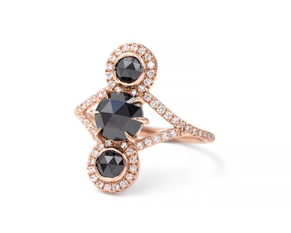 Black Diamond Triple Equilibrium Ring (size 6.5 in stock)