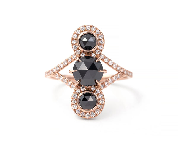 Black Diamond Triple Equilibrium Ring