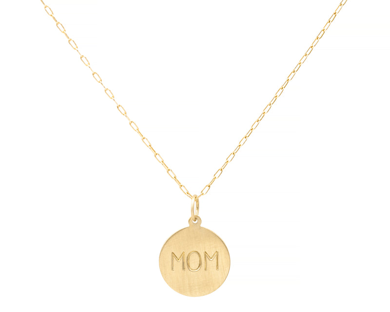 Engravable Charm Necklace