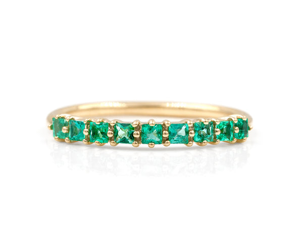 Emerald Evie Ring