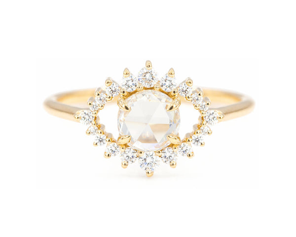 Everett Fine Jewelry Sullivan Rose Cut Diamond Ring