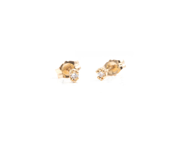 Marigold Studs (in stock)
