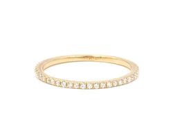 Everett Fine Jewelry Morgan Micropavé White Diamond Band