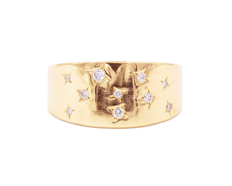 Everett Fine Jewelry Lucky Stars Ring