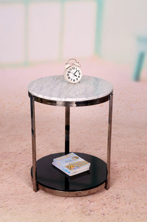 Round Small Marble Top Side Table – Lexiang