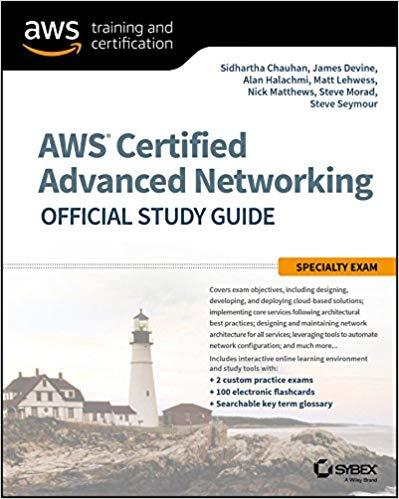 Pdf Etextbook Aws Certified Advanced Networking Official Study
