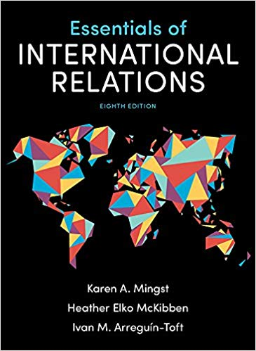 Essentials of International Relations 8th Eighth Edition by Karen A  Mingst  (eBook PDF)