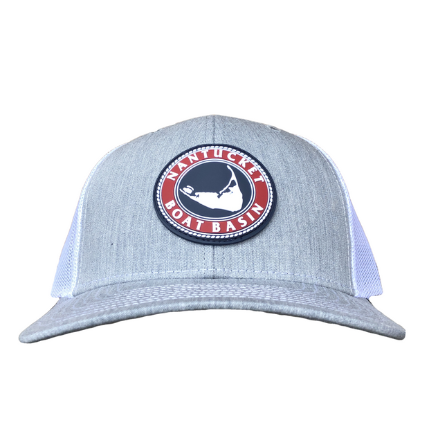 Nantucket Boat Basin Rubber Patch Trucker