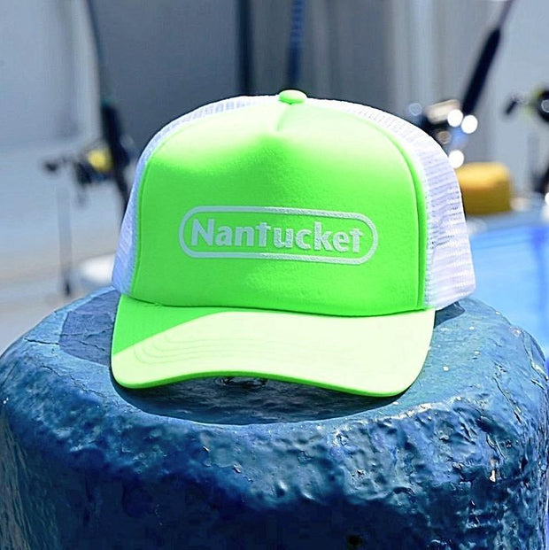 Nantucket Rectangle Foam Trucker