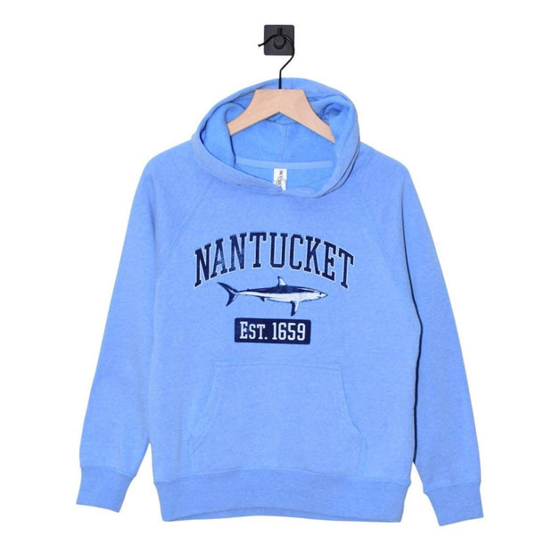 Nantucket Mako Raglan Youth Hoodie
