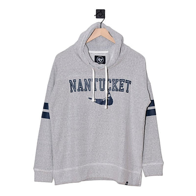 Nantucket Offsides Ladies Funnel Neck