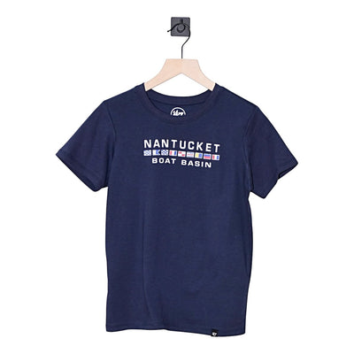 Nantucket Super Rival Flag Youth Tee