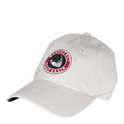 Nantucket Boat Basin Logo Washed Hat
