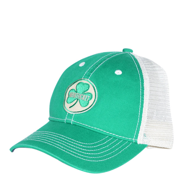 Nantucket Shamrock Mesh Trucker