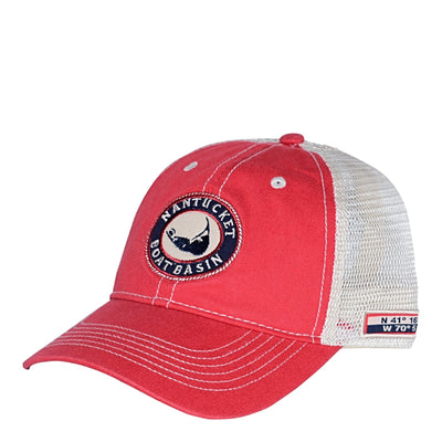 Nantucket Boat Basin Washed Mesh Trucker
