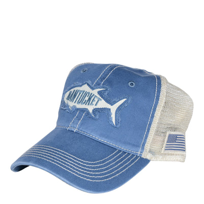Nantucket Tuna Washed Mesh Trucker