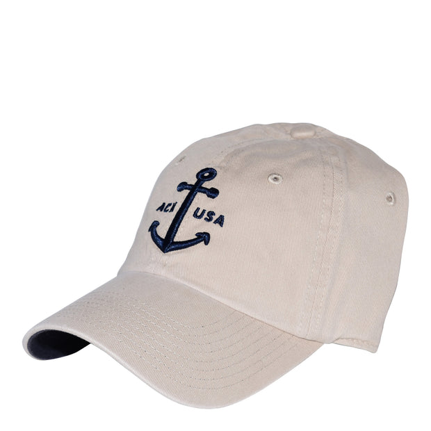 ACK USA Anchor Washed Hat