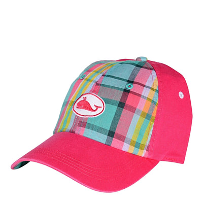 Nantucket Whal Plaid Front Youth Hat