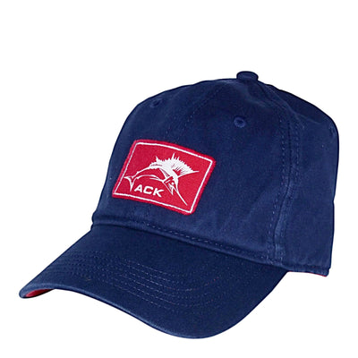 ACK Tuna Label Navy Adjustable Hat