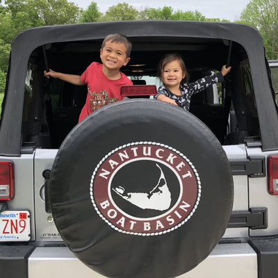 "Nantucket Boat Basin Jeep 32"" Tire Cover"