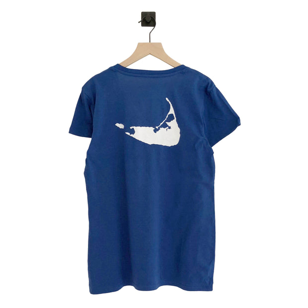 Nantucket Script MVP Ultra Rival V-Neck Tee