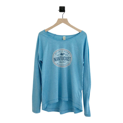 Nantucket Oval Whale Jersey LS