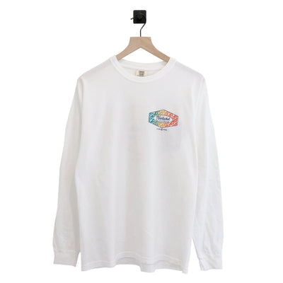 Nantucket Wave Pattern Pigment LS Tee