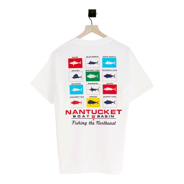 Nantucket Boat Basin Catch and Release SS Tee
