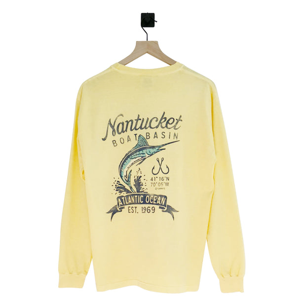 Nantucket Boat Basin Sport Marlin LS Tee