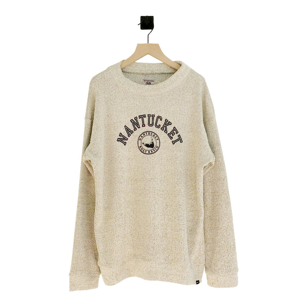 Women's Nantucket Boat Basin Furry Crew Sweatshirt