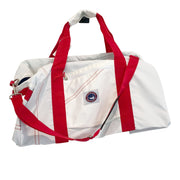 Nantucket Boat Basin XL Square Sailcloth Duffel