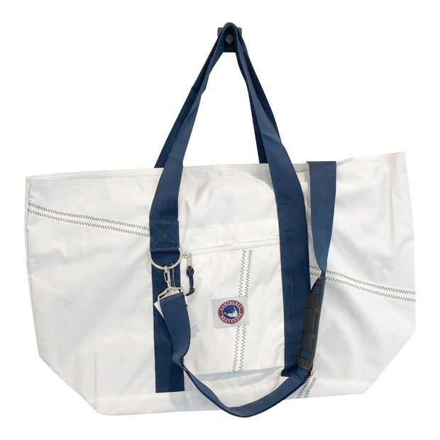 Nantucket Boat Basin XL Sailcloth Tote Bag