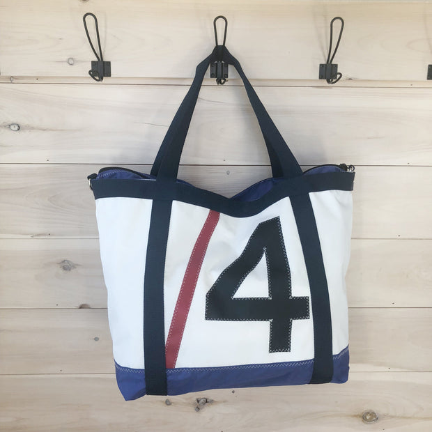 Nantucket Boat Basin Sail N Series Tote