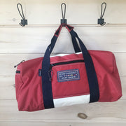 Nantucket Boat Basin Sail Square Duffle - Large Size