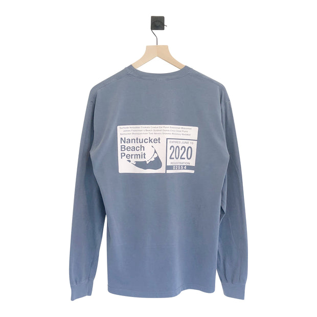 Nantucket Beach Permit Pigment LS Tee - Final Sale