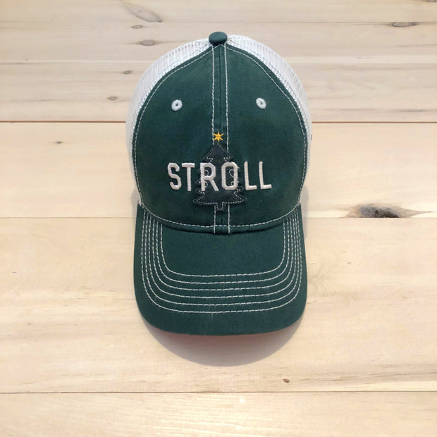 Stroll Tree Washed Trucker Hat